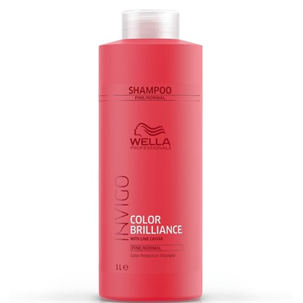 Wella Professionals INVIGO Color Brilliance Shampoo 1000ml - Fine/Normal Hair
