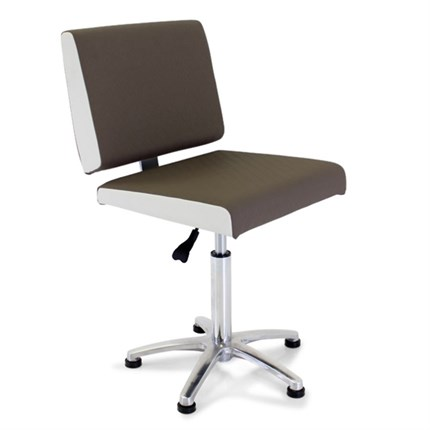 REM Salsa Nail Client Chair - Tailored Clay