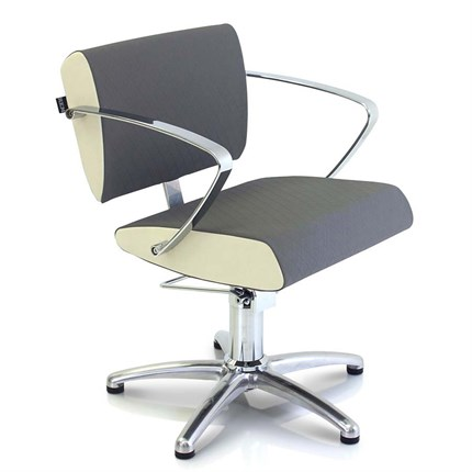 REM Aero Hydraulic Chair - Pebble