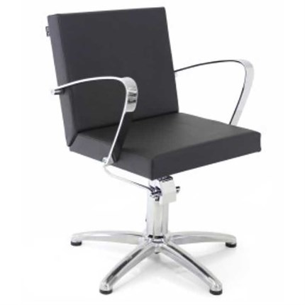 REM Shiraz Hydraulic Styling Chair - Tailored Clay