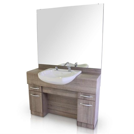 REM Mavericks Barbers Unit (with Basin) - Reed