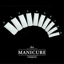 The Manicure Company Full Nail Tips Pk500 Box