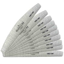 The Manicure Company 100/100 GRIT Pro Nail Files - 10pk