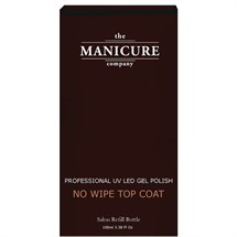 The Manicure Company No Wipe Top Coat Salon Refill 100ml