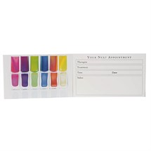 Agenda Nail Appointment Cards - Multi Varnish