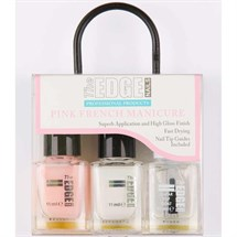 The Edge French Manicure Kit - Pink