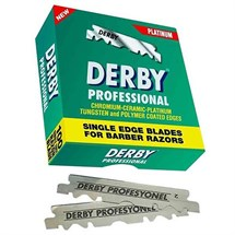 Derby Shaving Blades Single Edge Pk100