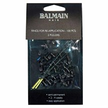 Balmain Soft Rings for Application - Black