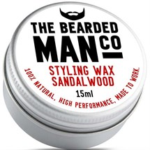 The Bearded Man Moustache Wax 15g - Sandalwood