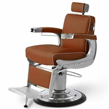 Takara Belmont Apollo 2 Barber Chair Black Round Base
