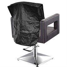 Essentials Chair Back Cover - Black - 20 inch