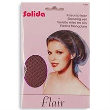 Comby Solida Flair Setting Hair Net - Brown