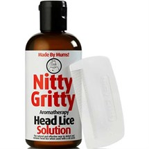 Nitty Gritty Aromatherapy Head Lice Solution Kit 150ml