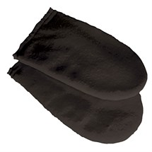 Deo Cotton Manicure Mitts - Black