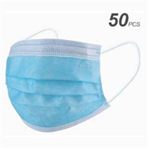 Disposable 3 PLY Face Masks (Pack 50)