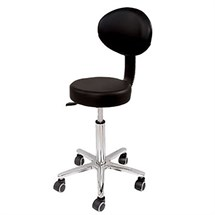 Deo Cutting Stool with Backrest