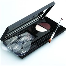 Hi Brow Compact Dark Brown