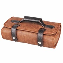 Head Jog Barber Tool Roll - Brown