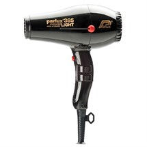 Parlux 385 Power Light Ceramic Ionic Dryer - Black