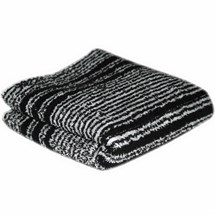 Hair Tools Towels Pk12 - Black/White