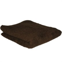 Hair Tools Towels Pk12 - Chocolate
