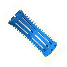 Head Jog Rollers With Pins (12pk) - Blue 20mm