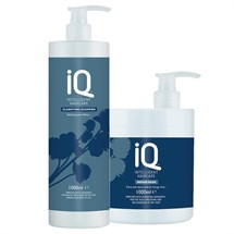 IQ Intelligent Haircare Clarifying Twin Pack 1 Litre