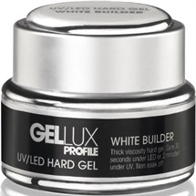 Salon System Gellux UV/LED Hard Gel 15ml - White Builder
