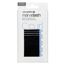 Salon System Marvelash Lash Extensions C Curl 0.10 (Fine) - Assorted (9,11,13,15mm)