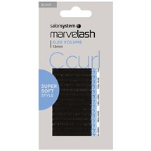 Salon System Marvelash Lash Extensions C Curl 0.20 (Volume) - 13mm Black