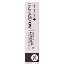 Salon System Marvelbrow Brow & Lash Tint Dark Brown 15ml