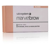 Salon System Marvelbrow Brow Trio - Blonde