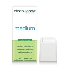 Clean+Easy 3 Pack Rollerheads - Medium