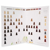 Keune So Pure Color Swatch Card