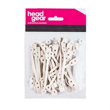 Head-Gear Perm Rod Rubbers Pk50 - Flat / Short