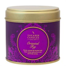 Scented Candle Tin - Oriental Fig