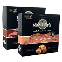 Mrs Tilly Fudge 400g - Belgium Chocolate