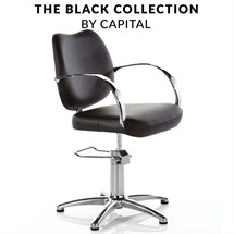 Capital Kingston Hydraulic Chair - Black