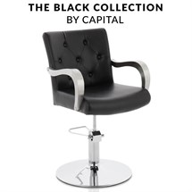 Capital Windsor Styling Chair - Black