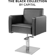 Capital Regent Hydraulic Chair - Black