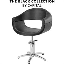 Capital Oxford Hydraulic Chair - Black