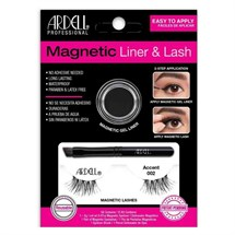 Ardell Magnetic Gel Eyeliner & 002 Lashes Kit