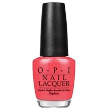 OPI Lacquer 15ml - Red Lights Ahead... Where?