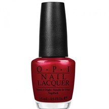 OPI Lacquer 15ml - Danke-Shiny Red