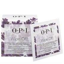 OPI Wipe-Off Acetone Free Lacquer Remover Wipes