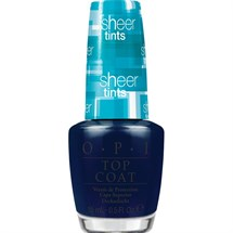OPI Lacquer Top Coat Sheer Tints 15ml - I Can Teal You Like Me