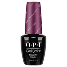 OPI GelColor 15ml - Alice - What's The Hatter With You?