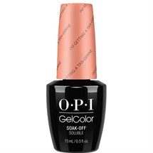 OPI GelColor 15ml - Retro Summer - I'm Getting a Tan-gerine
