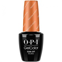 OPI GelColor 15ml - Washington DC - Freedom Of Peach