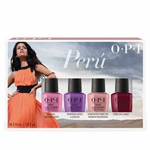 OPI Lacquer Peru Mini (4 Pack)